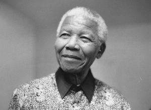 Nelson Mandela in 2000